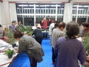 緑の相談所 寄せ植え教室募集