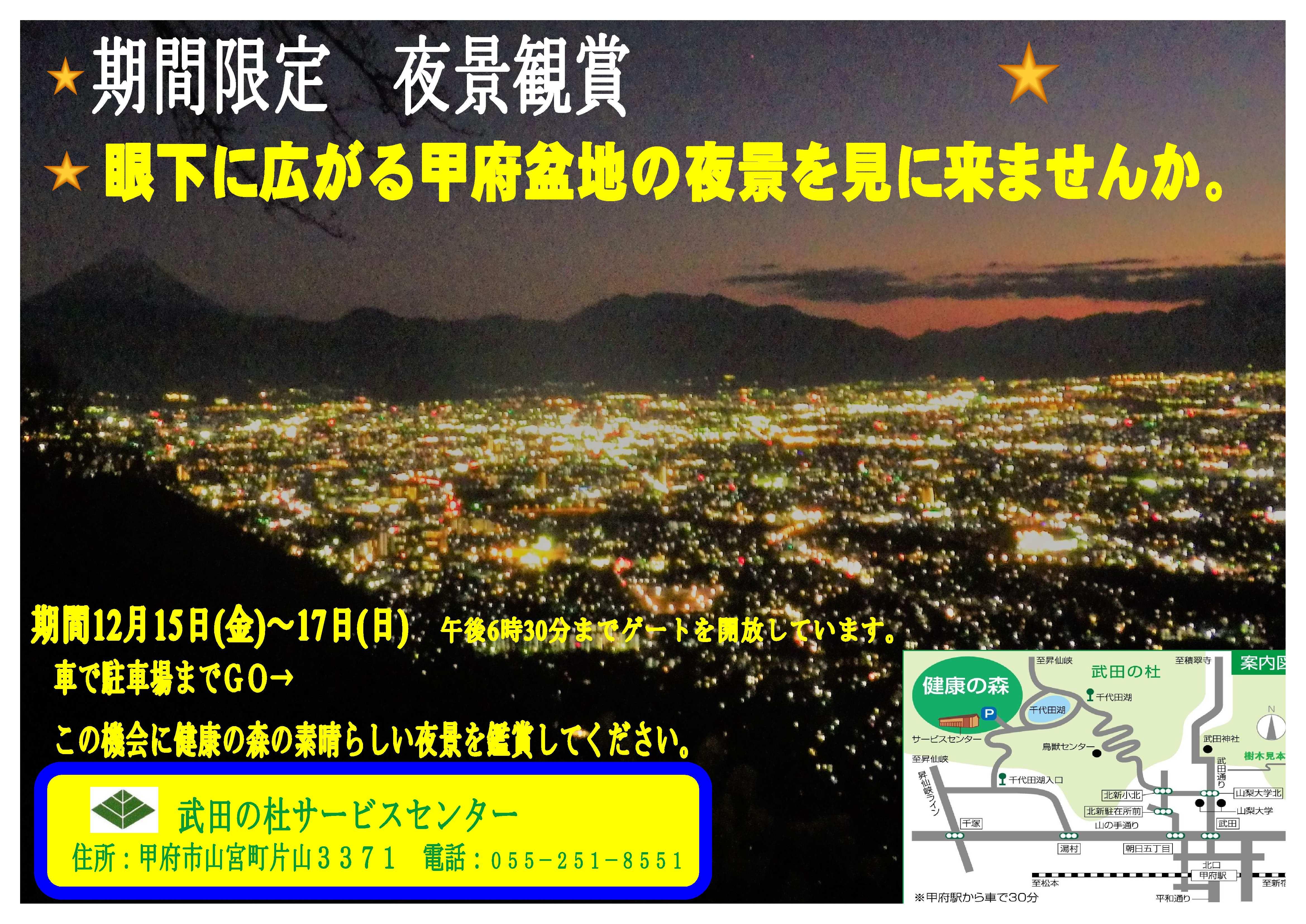 夜景鑑賞ポスター